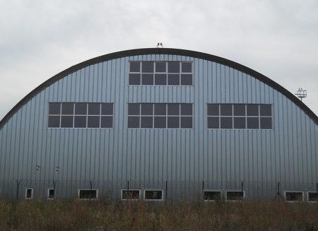 Hangare metalice autoportante pentru elicoptere